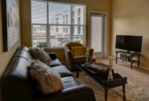 Interior Photo of Model Apartment at Martha's Vineyard Place Apartments in Dallas, TX