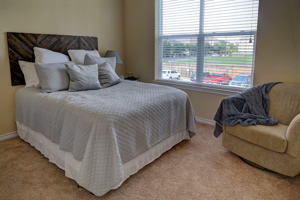 Photo of Bedroom View - with Window in Background at Martha's Vineyard Place Apartments
